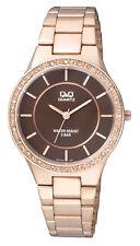 Q&Q by Citizen Q921J002Y Superior Crystal Bezel Rose Gold Tone Women's Watch