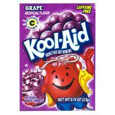 50 Packs Grape FLAVOR Kool Aid Drink Mix Vitamin C