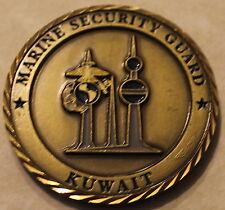 Kuwait Marine Security Guard Detail Challenge Coin