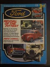 Petersen's Complete Ford Book Revival Fittest Pinto Corral 3rd Edition 1973 PPAA