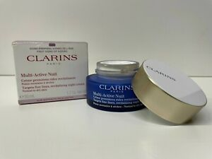 CLARINS Multi-Active Nuit Night Cream Norm/Dry Skin 1.6oz UNSEALED