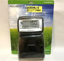 AcuRite Wireless Digital Rain Gauge With Self-Emptying Collector - New - 00875W