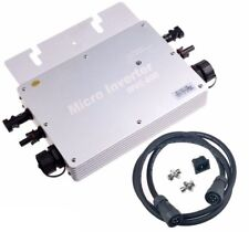 600W Micro MPPT Pure Sine Wave Grid Tie Inverter DC 22-50V To AC 230V Waterproof