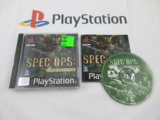 playstation 1: SPEC OPS stealth patrol