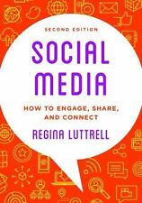 Social Media: How to Engage, Share, and Connect, Luttrell, Regina, New Book