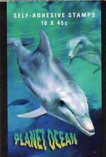 1998 AUSTRALIAN STAMP BOOKLET PLANET OCEAN 10 x 45c STAMPS MUH