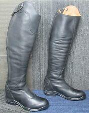 New listing Wmns ARIAT V Sport Tall Zip Black Leather Equestrian Boots sz 8.5 B