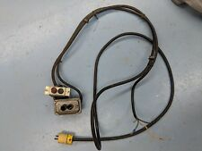 """Delta Rockwell 10"""" Bench Saw Model 34-425, Wiring Harness and Push Button Switch"""