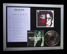 STEVE HARLEY Make Me Smile TOP QUALITY MUSIC CD FRAMED DISPLAY+FAST GLOBAL SHIP
