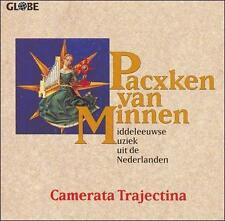 PACXKEN VAN MINNEN: MIDDLEEUWSE MUSIEK UIT DE NEDERLANDEN (NEW CD)