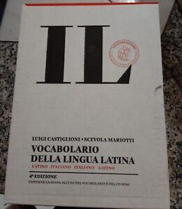 Loescher IL - Vocabolario della Lingua Latina Quarta Edizione Copertina Rigida