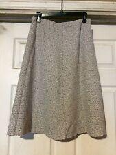 Stylin' Vintage Suburban Neighborhood Raw Hem Midi Skirt+Size 13/14+