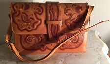 GENUINE LEATHER PURSE / HANDBAG - MADE AT MIKE'S MFCT. MEXICO