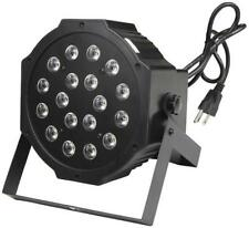 Zebra LED Stage Light w/ DMX Effects CLUB Party Wedding 18 x 1W  6 x RGB ZYP118