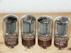 4 Tung-Sol 6AR6 Tubes (USA) Quad #1