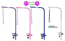 "Master Equipment 36"" Heavy Duty Grooming ARM&CLAMP&LOOP*ADJUSTABLE For Pet Table"