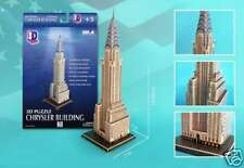 Detailed Architectural Model Chrysler Building 1:660 scale New York City