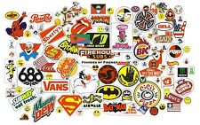 50 Assorted stickers Skateboard Laptop Luggage Cell Phone Car Locker Bicycle