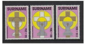 Surinam - 1988 Easter set - MNH - SG 1371/3