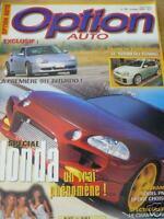 OPTION AUTO n°105 (tuning) spécialCIVIC PaganiZonda C12