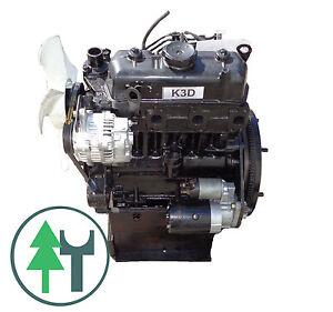 Dieselmotor Motor Mitsubishi K3D 979ccm 21PS BHKW gebraucht Diesel