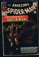 Amazing Spiderman #28 ORIGINAL Vintage 1965 Marvel Comics 1st Molten Man