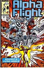 ALPHA FLIGHT (1983) #57 - Back Issue