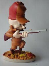 Figurine de collection RESINE WARNER BROS LOONEY TUNES 2003 Elmer 12cm