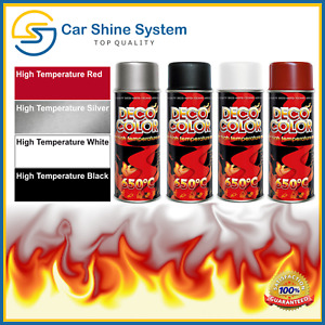 Clear SATIN Heat High Temperature Resistant Paint Stove Fire Grill Spray 650°C