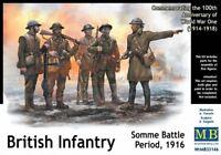 Mas35146 - Masterbox 1:3 Échelle 5 Kit Modélisme - Infanterie Britannique