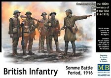 MAS35146 - Masterbox 1:35 SCALE MODEL KIT - British Infantry Battle of the Somme