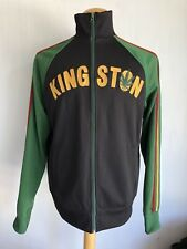 KINGSTON JAMAICA Full-Zip Track Jacket by Lucky Brand Athletic Size Large