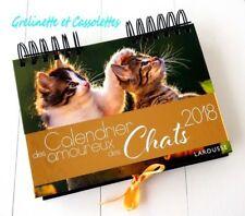 Calendriers des chatons et des chats LAROUSSE - 2016-2017-2018