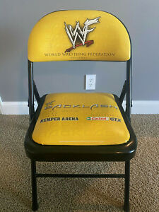 WWE WWF Backlash 2002 Chair Rare