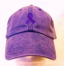 Domestic Violence Awareness Purple Ribbon Purple Baseball Hat Cap New