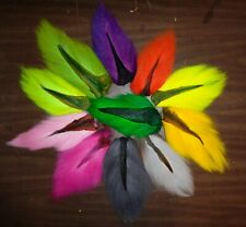 BUCK TAIL Deer tails  -Small tails- Fly Tying Fishing Material - Natural & Dyed