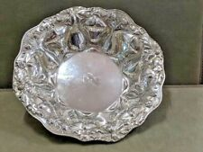 A large sterling silver art nouveau dish American by Alvins -Gorham circa 1910