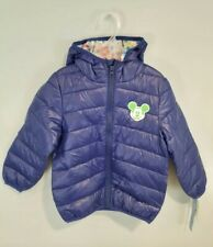 Disney Mickey Mouse Jacket Toddler 4T Ultralight Puffer Coat Jacket NWT Winter