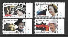 Tristan Da Cunha 2015 Britains Longest Reigning Monarch  MNH