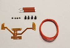PS4 DS4 1U MOD KIT EASY REMAP BOARD W/ 2 RED PADDLES CUSTOM DIY BUTTON MAPS