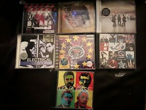 U2 - A Collection of 7 CD Albums by U2