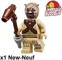 Lego Figurine Minifig Star Wars Tusken Raider + arme weapon sw620 NEUF
