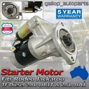 Starter Motor for Holden Rodeo TF 4WD Turbo 4JA1 4JB1 2.5 2.8L 3.0L diesel 87-04