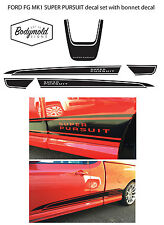 Ford Style FG Mark1 SUPER PURSUIT Ute decal kit, sides and bonnet