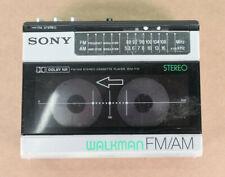 SONY WALKMAN WM-F15 Cassette Player AM/FM Japan, Vintage, FOR PARTS/REPAIR As Is