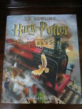 Harry Potter and The Sorcerer's Stone: Illustrated Ed. Hc/Dust Jacket New