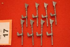 Games Workshop Warhammer Undead Vampire Counts Zombies Halberds Arms Spares Bits