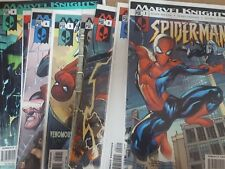 Spiderman Comic Lot marvel knights 1 2 3 4 5 6 7 8 nm bagged boarded