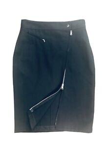 DKNY wool zipper pencil skirt 2. Orig $158