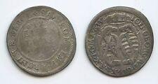 G6887 - Sachsen-Albertinische Linie 1/12 Taler 1693 Johann Georg IV. 1691-1694